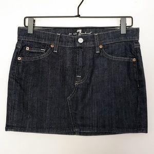 | 7 For All Mankind | Roxy Style Denim Skirt